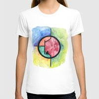 transistor T-shirts featuring Watercolor NPN BJT by EEShirts