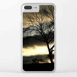 Morning Clouds Clear iPhone Case