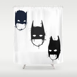 Three Batmen Shower Curtain