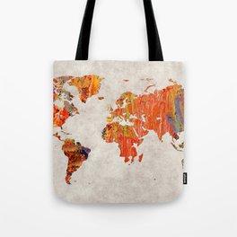 World Map 53 Tote Bag