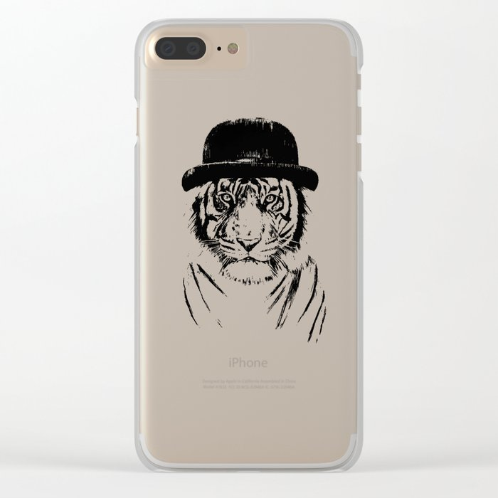 Welcome to the jungle Clear iPhone Case