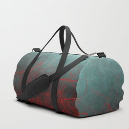 Abstract Boxes Underwater Duffle Bag