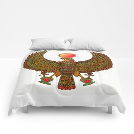 HORUS-EGYPTIAN DIETY Comforters