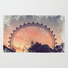 London city art 4 #london #city Rug
