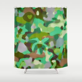 Abstract art 4. Shower Curtain
