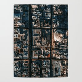 Valleta, Malta from above Poster