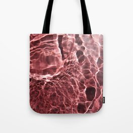 Strawberry Full Moon Tote Bag