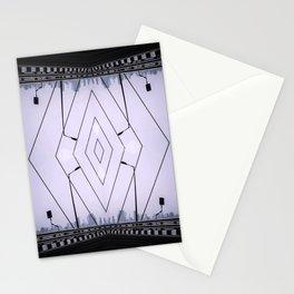Bridge Of Diamonds - Symmetric Chaos Kaleidoscope Series 1 Stationery Cards