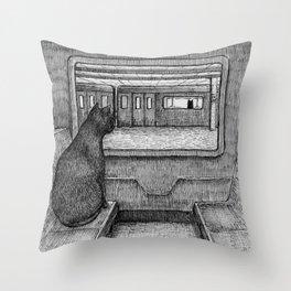 Serendipity I Throw Pillow