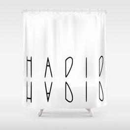hadid Shower Curtain