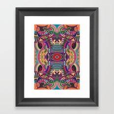 Psychedelic Daze Framed Art Print