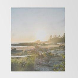 Tofino, British Columbia Throw Blanket