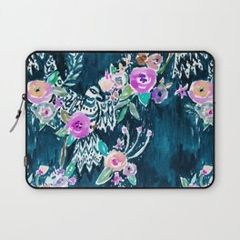 BIRD OF HEY - INDIGO Laptop Sleeve