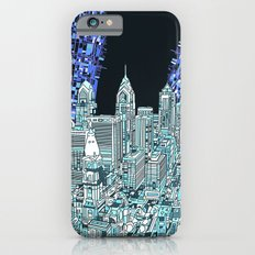 philadelphia city skyline iPhone 6s Slim Case