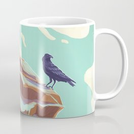 Alpine Crow Coffee Mug