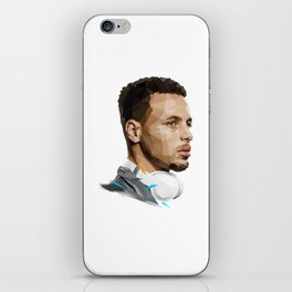 Curry low poly iPhone Skin