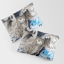 "Owl - Animal - ""I own the night..."" by LiliFlore Pillow Sham"