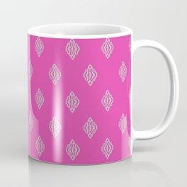 Pattern I Pink/Gray Coffee Mug