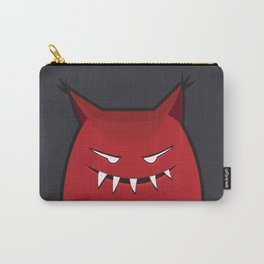 Evil Monster With Pointy Ears Carry-All Pouch
