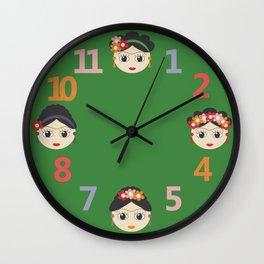 Fridas Wall Clock