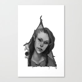 Hedge Witch 2 Canvas Print
