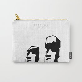 Rapa nui art Carry-All Pouch