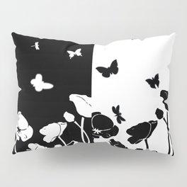 POPPIES AND BUTTERFLIES Pillow Sham