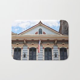 New Orleans American Creole Cottage Bath Mat