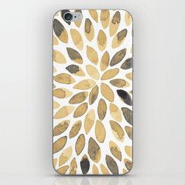 Watercolor brush strokes - neutral iPhone Skin