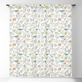 birds outside my window Blackout Curtain