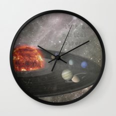 The Musical Universe Wall Clock