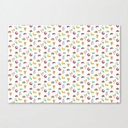 Animal Tiles Canvas Print
