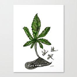 Mota !! Canvas Print