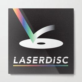 Obsolete Technology — LaserDisc Metal Print