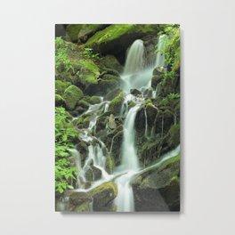 Smoky Mountains Waterfall 2 Metal Print