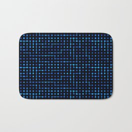 Sci-Fi Tech Circuit Bath Mat