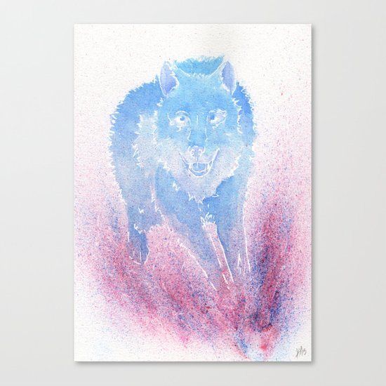 Wild Run Canvas Print