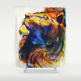 Cat of a Different Color Shower Curtain