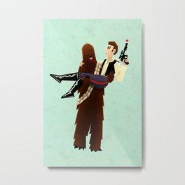 Wookielove Metal Print