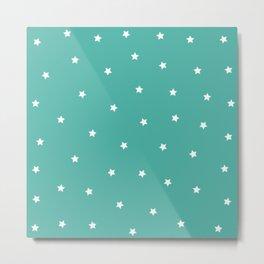 Stars Pattern 3 Metal Print