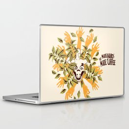 more hands for more coffee Laptop & iPad Skin