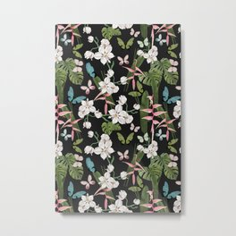 Orchid Habitat Metal Print