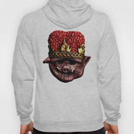 The Brainy Pig Large Hoody