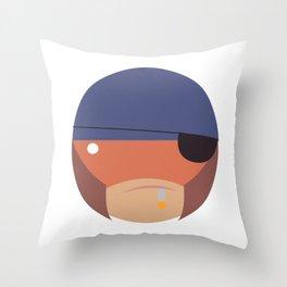 COOL MO Throw Pillow