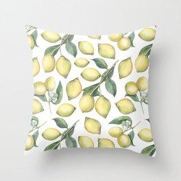 Lemon Fresh Throw Pillow