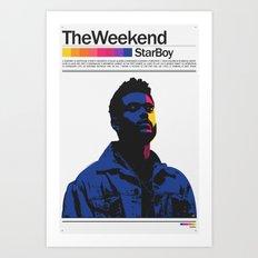 TheWeeknd Art Print