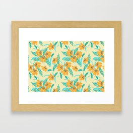 Vintage Garden Framed Art Print