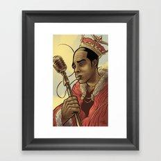 Proclaimed King of Rap Framed Art Print