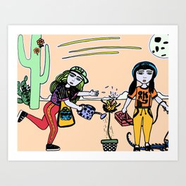 Brought to to you by Cosmic Brownies and Capri Suns Art Print