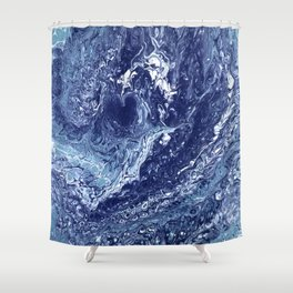 Heart of the Ocean Shower Curtain
